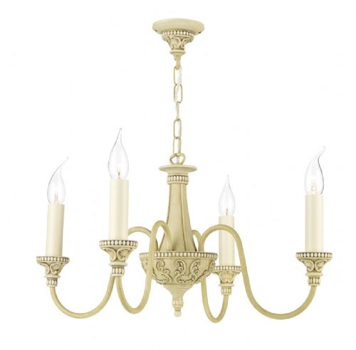 Bailey 4 Light Chandelier Cr BAI0445